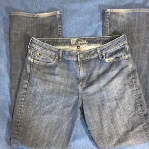 KUT from the Cloth bootcut medium wash jeans 14